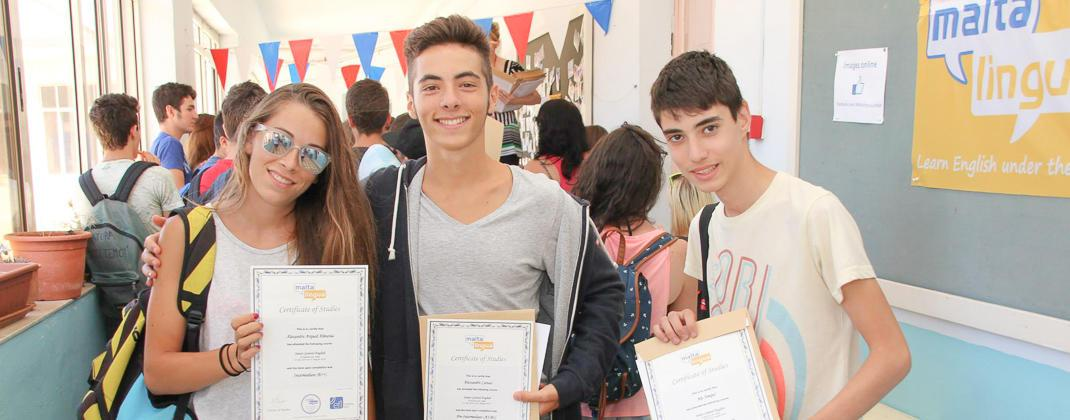 Certyfikaty kursów młodzieżowych