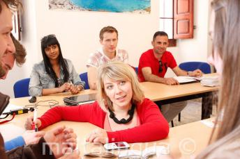 Nauczyciel angielskiego poczas kursu w naszej szkole na Malcie.