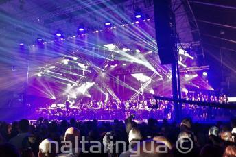 Koncert rockowy na Malcie