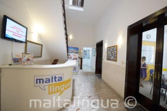 Szkoła angielskiego na Malcie - recepcja