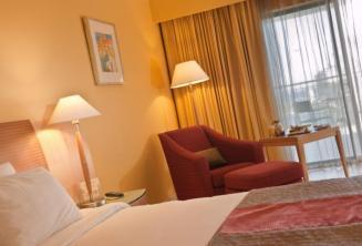 Pokój Deluxe w Le Meridien hotel, Malta