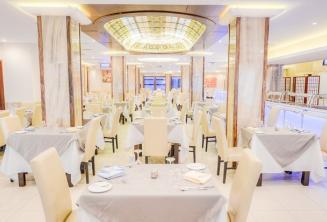 Hotel Alexandra sala restauracyjna
