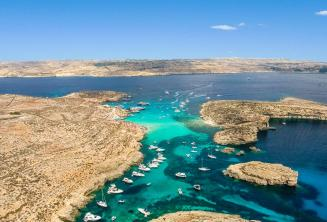 Zdjęcie widokowe Blue Lagoon, Comino, Malta