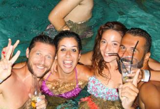 Impreza nad basenem w naszej szkole języka angielskiego