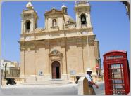 British Phone Box Malta